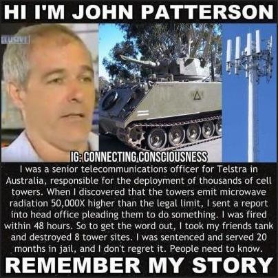 John Pattersson - Starší Vedoucí Pracovník pro Telstra v Austrálii, zodpovědný za nasazení tisíce věží.