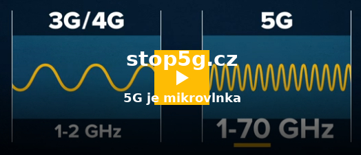 Stop5G.cz - Frekvence 3G/4G 1-2GHz; 5G 1-70 GHZ Mikrovlnka. co na to ČR...