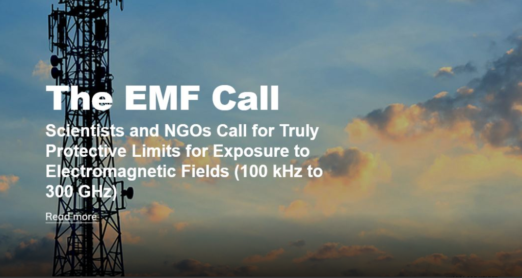 The EMF Call - Scientists and NGOs call for truly Protective Limits for Exposure to Electromagnetic Fields (100 kHz to 300 GHz)