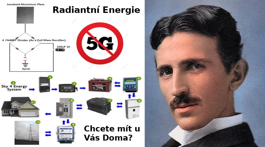 Tesla Radiantni Energie u Vás Doma