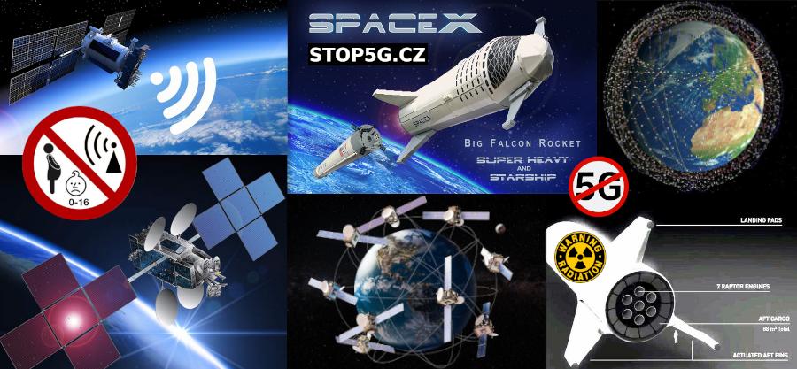 SpaceX zažádal o dalších 30 000 Satelitů – celkem 42000 Satelitů – Země v Mikrovlnné Troubě