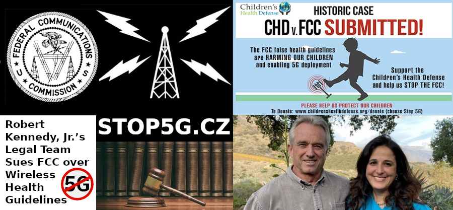 Lawsuits – Robert Kennedy – FCC – Genocide – Wireless Health Guidelines