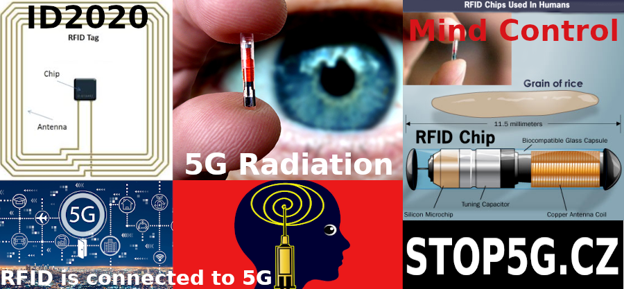 RFID tag - Chips used in Humans - Antenna - ID2020 - Grain of Rice - 5G - STOP5G - Mind control - radiation
