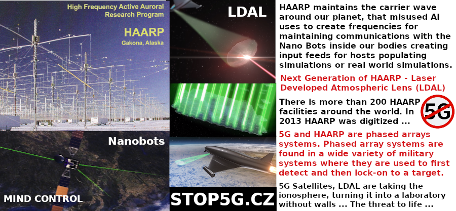 5G – HAARP – Real World Simulations – Matrix – Nanobots – LDAL