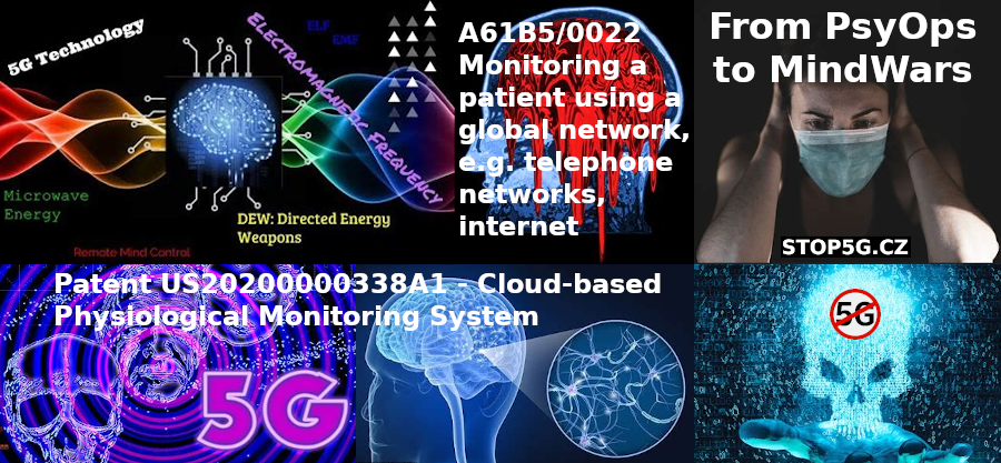 Patents – From PsyOps to MindWars – Monitoring a Patient using a Global Network, e.g. Telephone Networks, Internet – Neurological Warfare