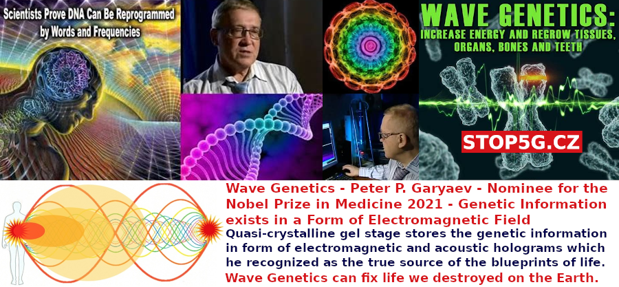 Wave Genetics – Peter P. Garyaev – Nominee for the Nobel Prize in Medicine 2021 – Genetic Information exists in a Form of Electromagnetic Field