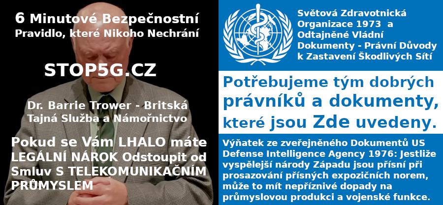 Legislativní Cesta – Plán jak zastavit 5G a Škodlivé Sítě v České republice – Odtajněné Dokumenty – Hledáme Právníky se Srdcem