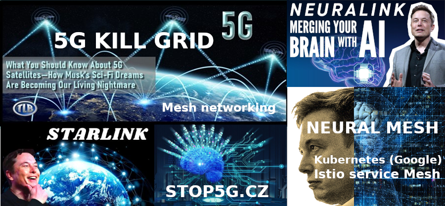Neural Mesh Networking – Neuralink – Starlink – Technological Society is causing Disease – Humans as nodes